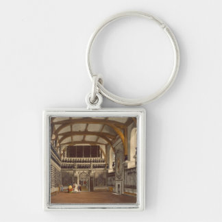 The Old Guard Chamber, The Round Tower, Windsor Ca Keychain