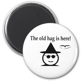 The Old Hag 2 Inch Round Magnet
