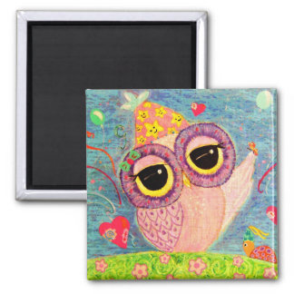 The Old Has Gone, The New Has Come! 2 Inch Square Magnet