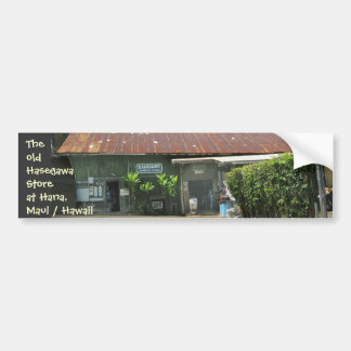 The Old Hasegawa Store Bumper Sticker