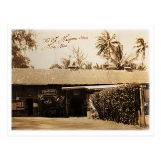 The Old Hasegawa Store on Maui Post Card
