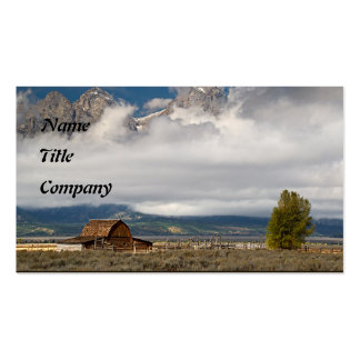 The Old  Homestead - Customized Business Card