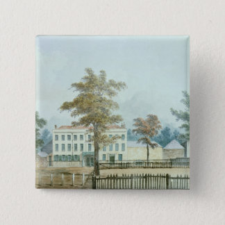 The Old House and entrance to Vauxhall Gardens Pinback Button