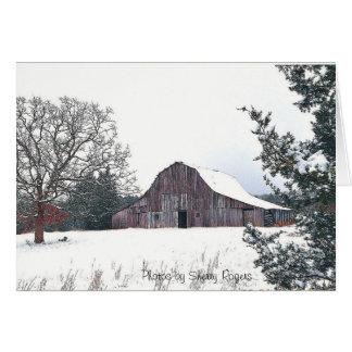 ~The Old Knolls Barn~ Card
