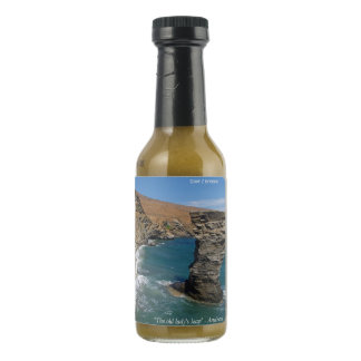 """The old lady's leap"" - Andros Hot Pepper Sauce"