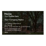 The Old library, Yale College rare Photochrom Double-Sided Standard Business Cards (Pack Of 100)