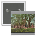 The Old library, Yale College rare Photochrom 2 Inch Square Button
