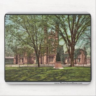 The Old library Yale College rare Photochrom Mousepads