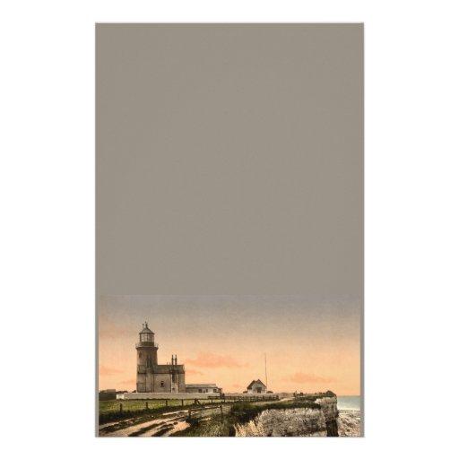 The Old Lighthouse, Hunstanton, Norfolk, England Custom Stationery
