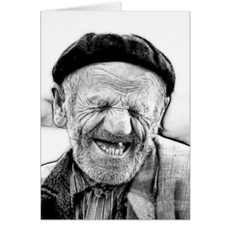 THE OLD MAN CARD