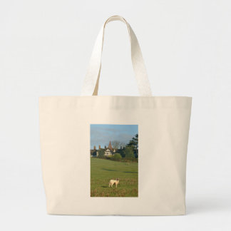 The Old Manor House, Wingrave Large Tote Bag