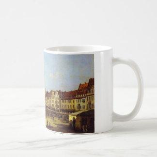 The Old Market Square in Dresden Bernardo Bellotto Coffee Mug