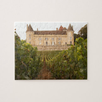 The old medieval Chateau de Rully in the Cote Jigsaw Puzzle