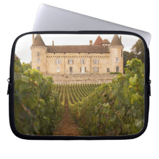 The old medieval Chateau de Rully in the Cote Laptop Computer Sleeves