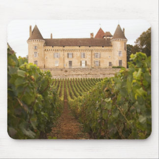 The old medieval Chateau de Rully in the Cote Mouse Pad