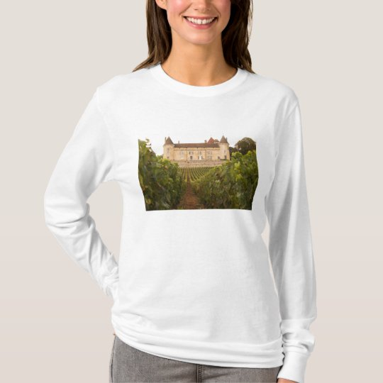 The old medieval Chateau de Rully in the Cote T-Shirt