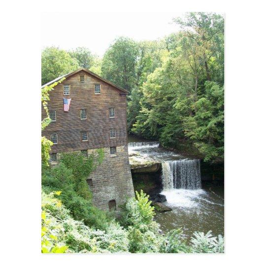 The Old Mill At Lanterman's Falls Postcard