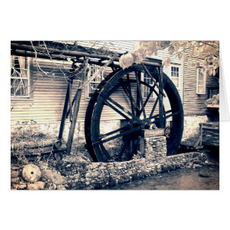 The Old Mill Card