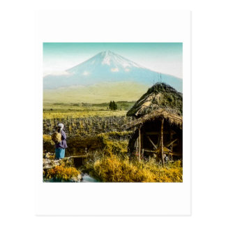 The Old Mill House in the Shaddow of Mt. Fuji Postcard