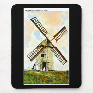 The Old Mill, Nantucket, Massachusetts Mouse Pad