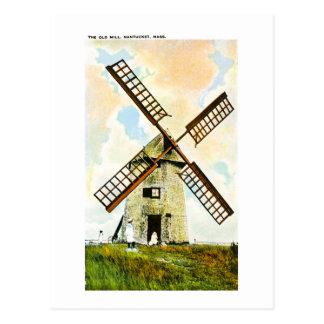 The Old Mill, Nantucket, Massachusetts Postcard