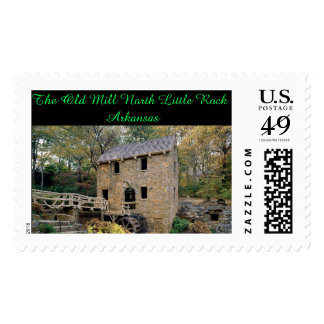 The Old Mill North Little Rock Arkansas Postage