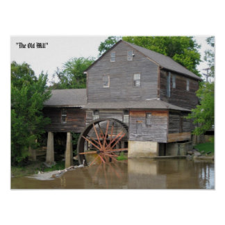 """The Old Mill"" Posters"