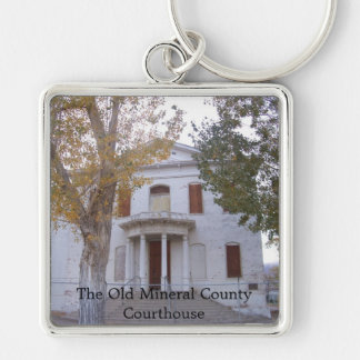 The Old Mineral County Courthouse Keychain