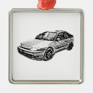The Old Mitsubishi Mirage Metal Ornament