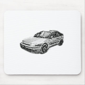 The Old Mitsubishi Mirage Mouse Pad