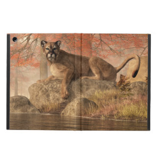 The Old Mountain Lion Cover For iPad Air