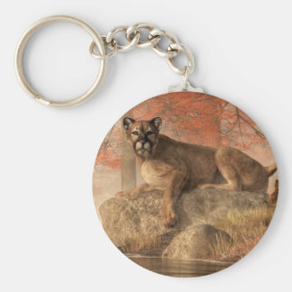 The Old Mountain Lion Keychain