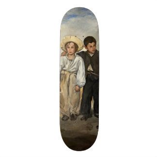 The Old Musician by Edouard Manet Skate Board Deck