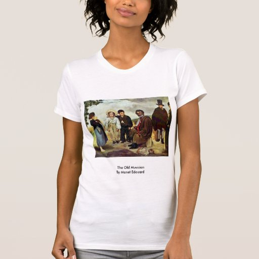 The Old Musician By Manet Edouard Tee Shirts