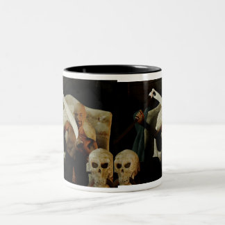 The Old Necromancer At Home Two-Tone Coffee Mug