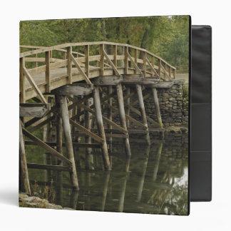 The Old North Bridge, Minute Man National 3 Ring Binder