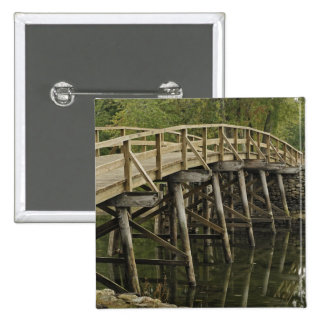 The Old North Bridge, Minute Man National Button