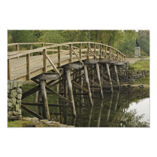 The Old North Bridge, Minute Man National Photo Print