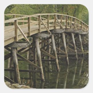 The Old North Bridge, Minute Man National Square Sticker