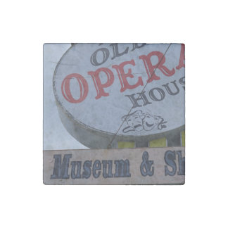 The Old Opera House Stone Magnet