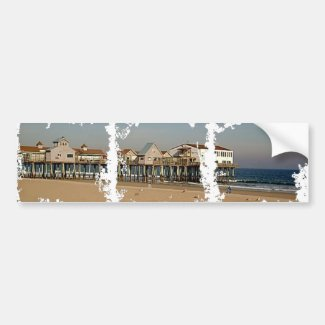 The Old Orchard Beach Pier Bumper Sticker