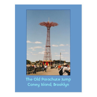 The Old Parachute Jump (Coney Island, NY) postcard