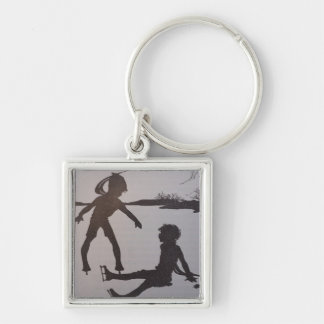 The Old Pond - Silhouette Keychain
