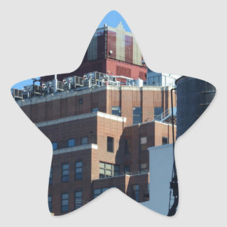 The Old Port Authority Building Star Sticker
