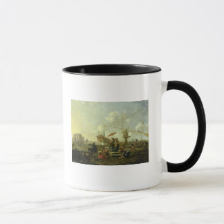 The Old Port of Genoa Mug