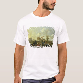 The Old Port of Genoa T-Shirt