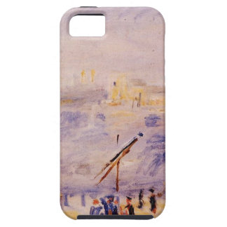 The Old Port of Marseille, People and Boats iPhone SE/5/5s Case
