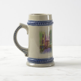 The Old prison drawing Beer Stein