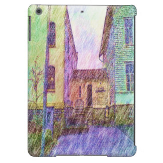 The Old prison drawing iPad Air Cases