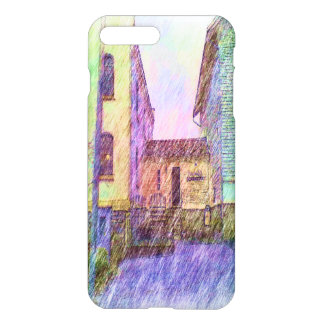 The Old prison drawing iPhone 8 Plus/7 Plus Case